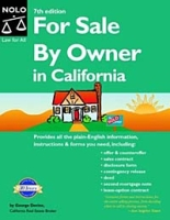 For Sale by Owner in California (FOR SALE BY OWNER CALIFORNIA EDITION) артикул 12043c.