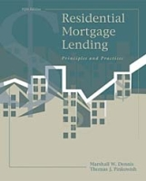 Residential Mortgage Lending: Principles and Practices артикул 12088c.